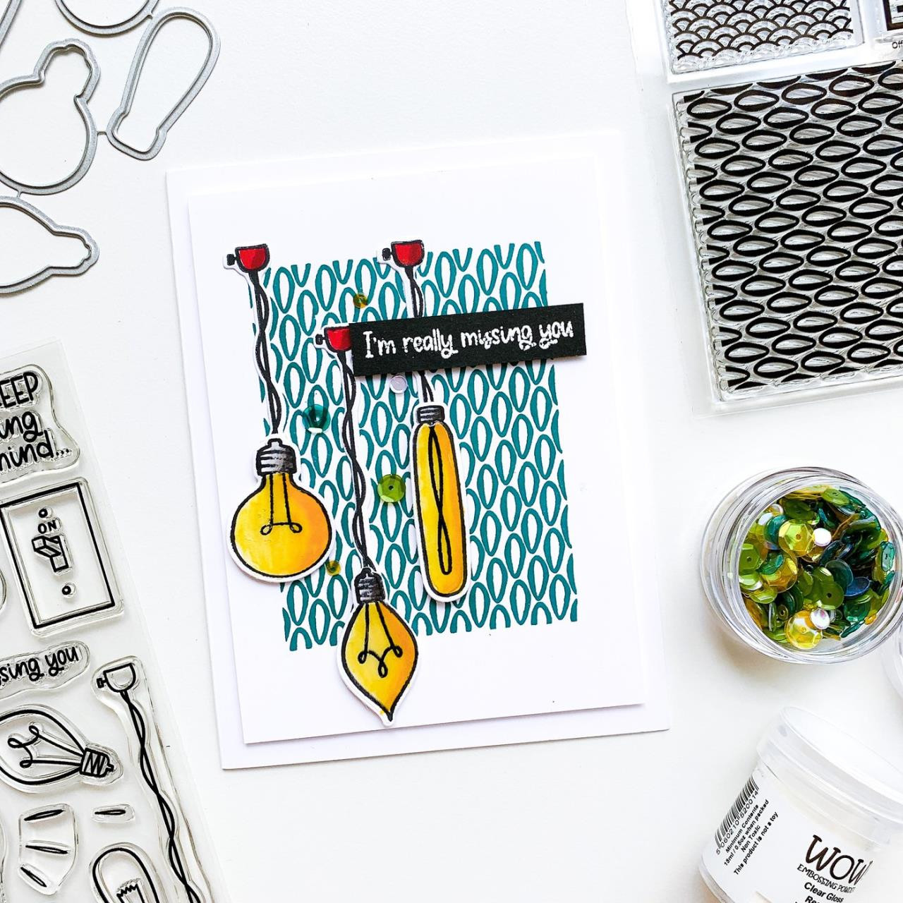 Bright Days, Catherine Pooler Clear Stamps -