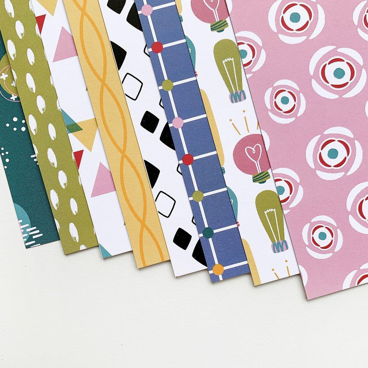 Bright Idea Slimline, Catherine Pooler Patterned Paper -