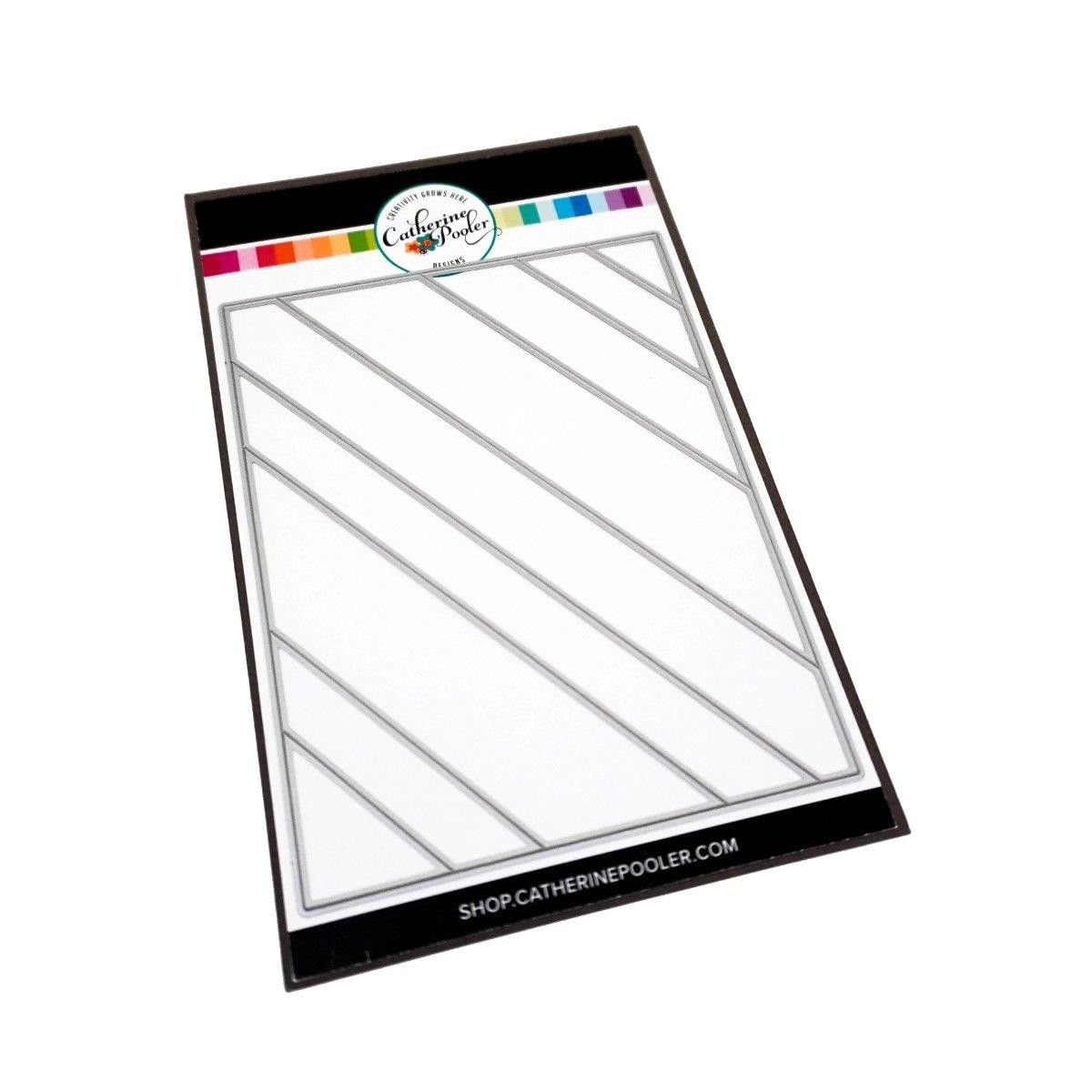 Angled Strips Cover Plate, Catherine Pooler Dies -