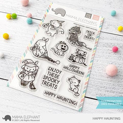 Happy Haunting, Mama Elephant Clear Stamps -