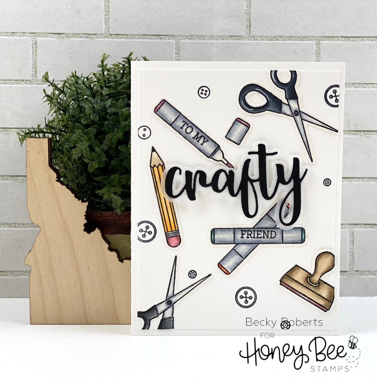 Let's Get Crafty, Honey Cuts Dies -