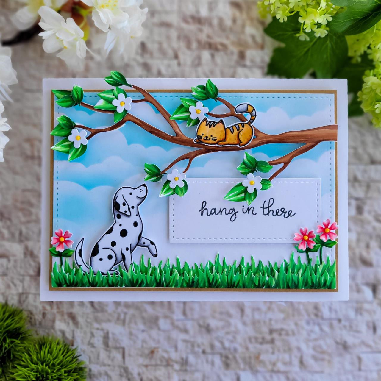 Puppy Dog Tails, Honey Bee Clear Stamps -