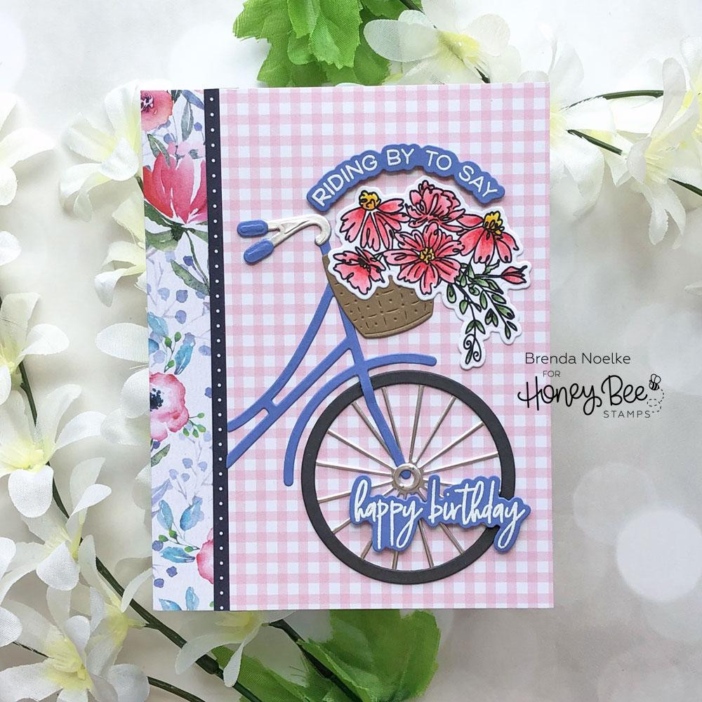 Riding By, Honey Bee Clear Stamps -