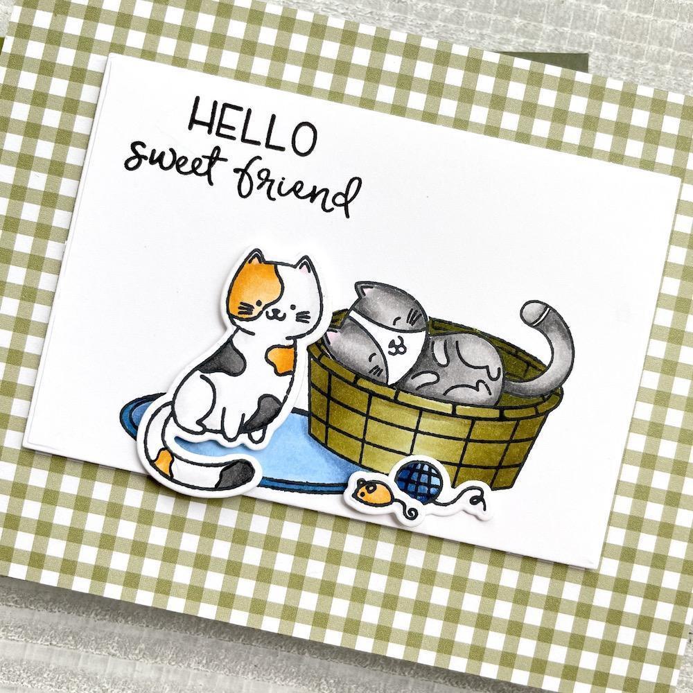 Smitten Kittens, Honey Bee Clear Stamps -