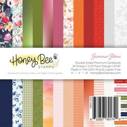 Summer Stems, Honey Bee 6 X 6 Paper Pad -