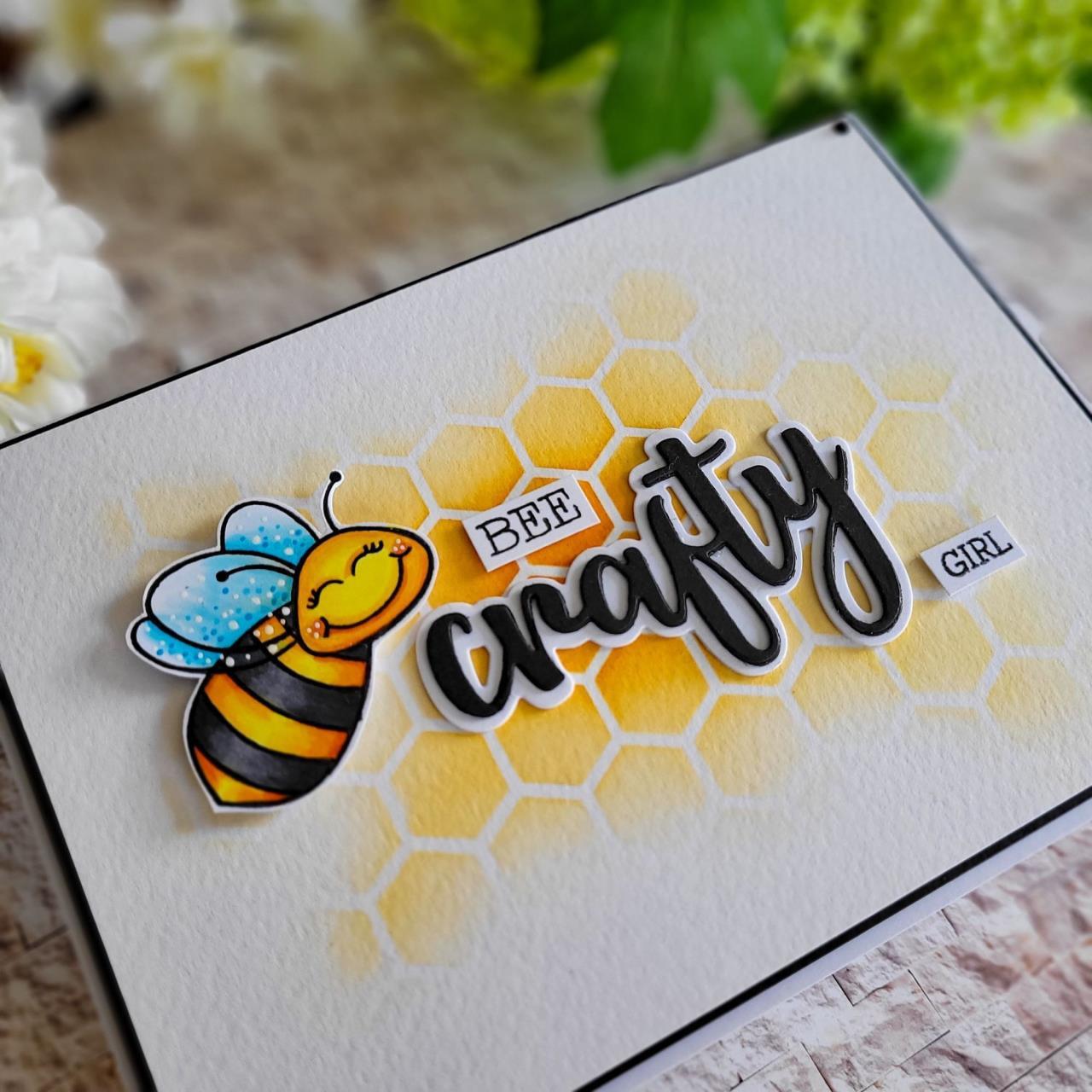 Crafty, Honey Cuts Dies -