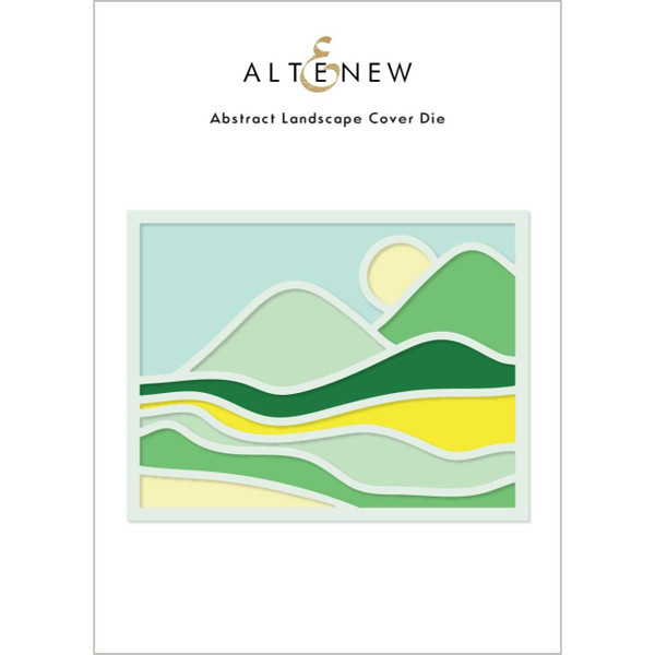 Abstract Landscape Cover, Altenew Dies -