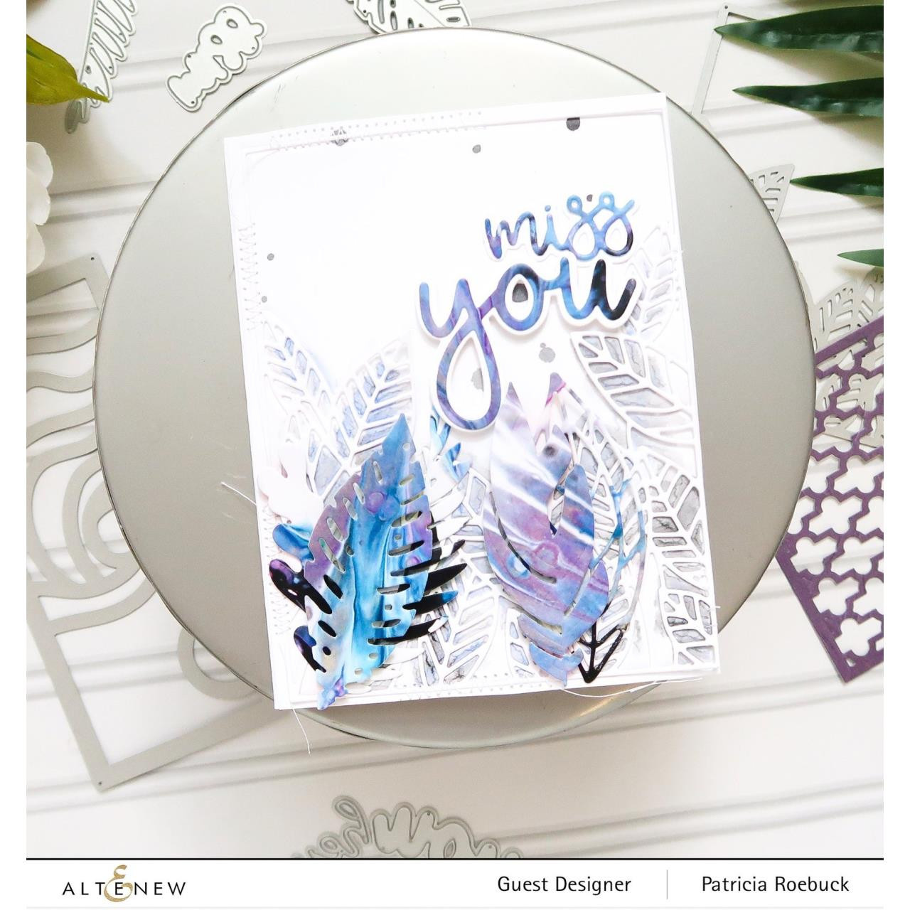 All About You Word, Altenew Dies -