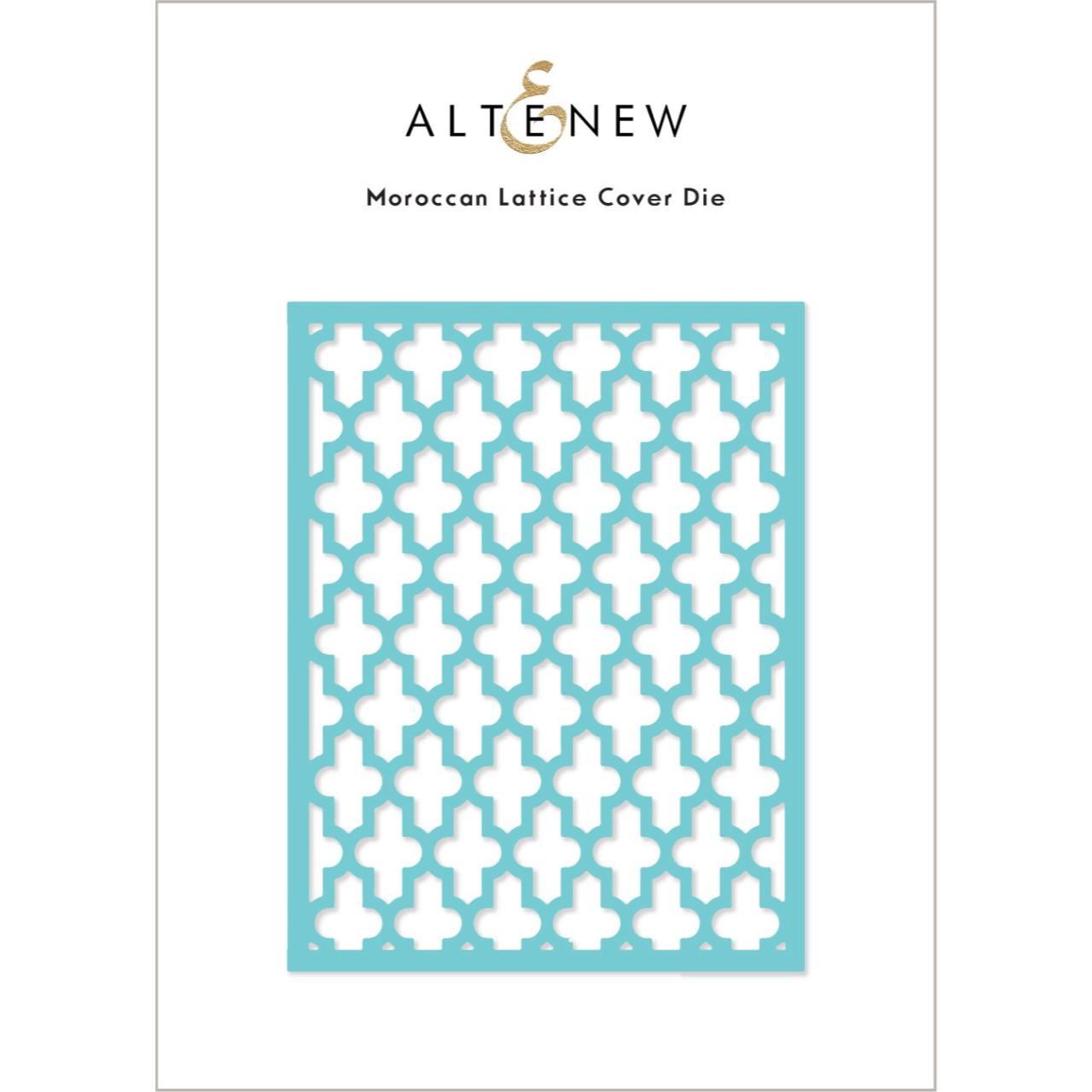 Moroccan Lattice Cover, Altenew Dies -