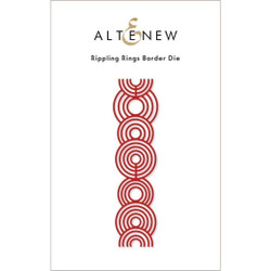 Rippling Rings Border, Altenew Dies -