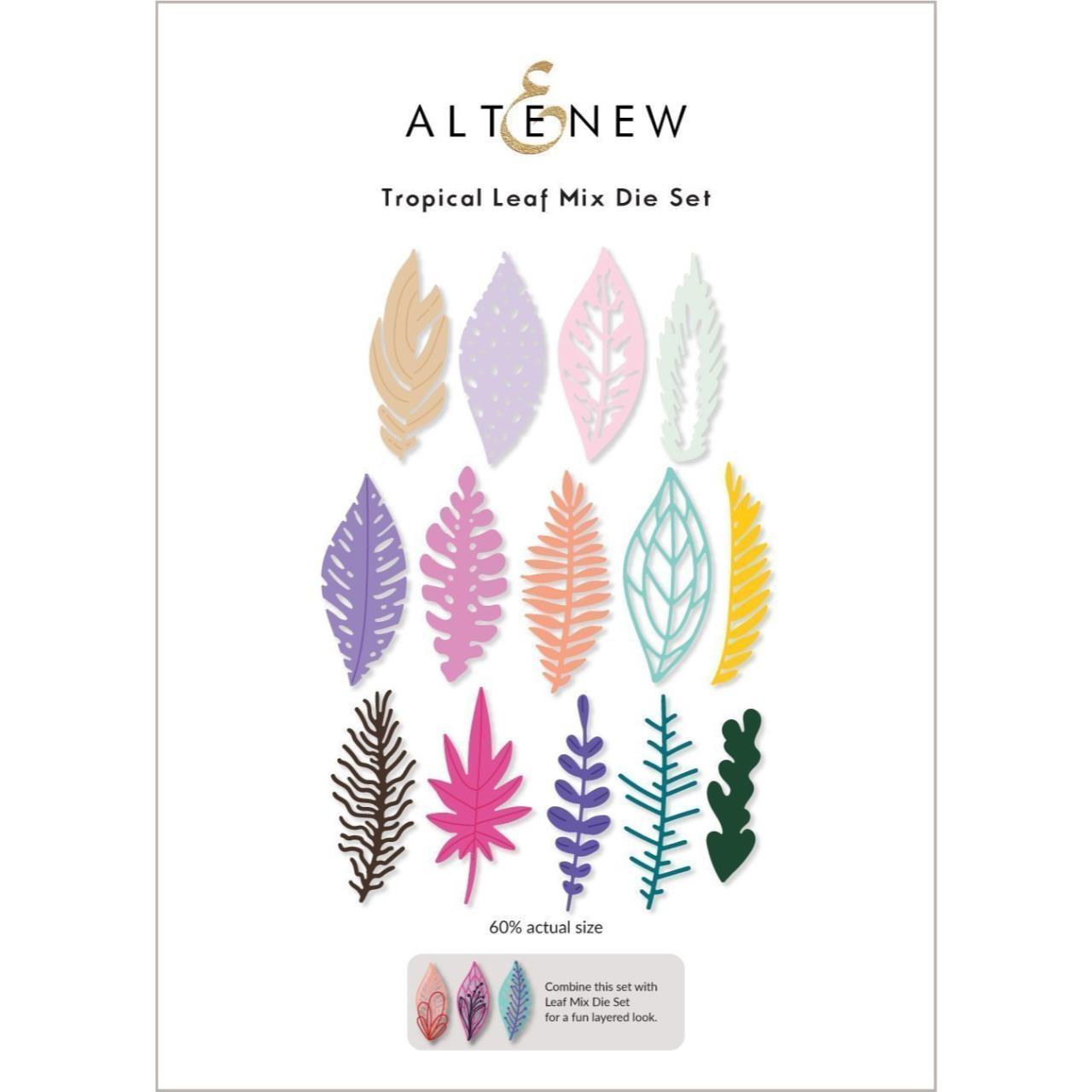 Tropical Leaf Mix, Altenew Dies -