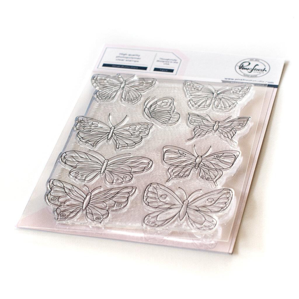 Small Butterflies, Pinkfresh Studio Clear Stamps -