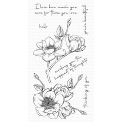 Magnolia Blossoms, My Favorite Things Clear Stamps -
