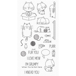 I Knead You by Birdie Brown, My Favorite Things Clear Stamps -