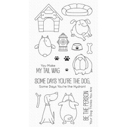 You Make My Tail Wag by Birdie Brown, My Favorite Things Clear Stamps -