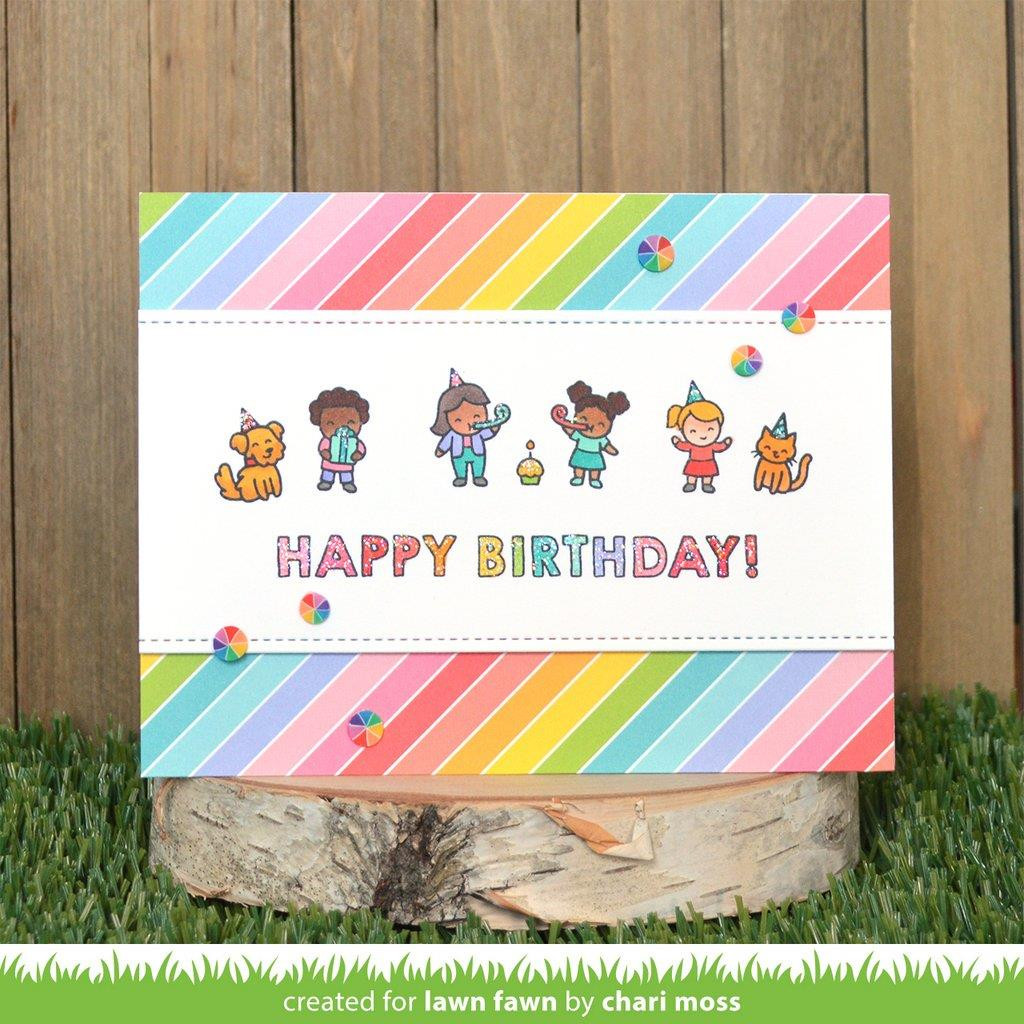 Giant Birthday Messages, Lawn Cuts Dies -