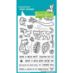 Toucan Do It, Lawn Fawn Clear Stamps -