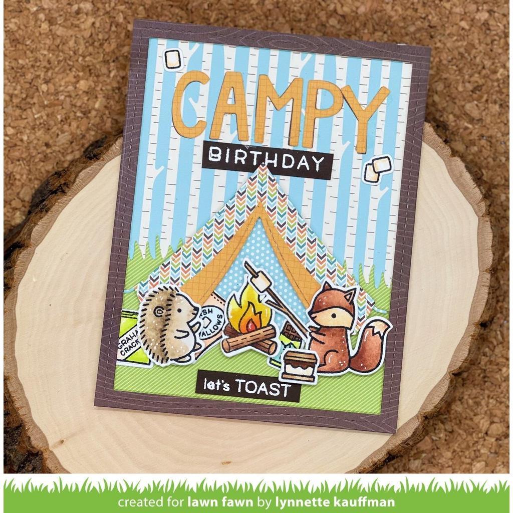 Build-A-Campsite, Lawn Cuts Dies -