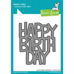 Giant Happy Birthday, Lawn Cuts Dies -