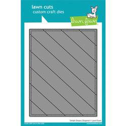 Simple Stripes: Diagonal, Lawn Cuts Dies -