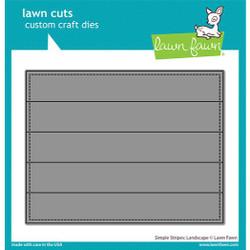 Simple Stripes: Landscape, Lawn Cuts Dies -