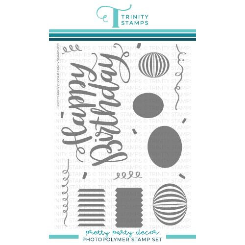 Pretty Party Decor, Trinity Stamps Clear Stamps -