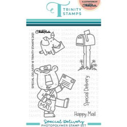 Special Delivery, Trinity Stamps Clear Stamps -