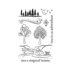Magical Forest, Hero Arts Clear Stamps -