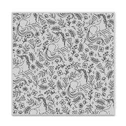 Magical Unicorn Bold Prints, Hero Arts Cling Stamps -