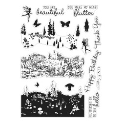 Meadow Heroscape, Hero Arts Clear Stamps -