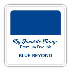 Blue Beyond, My Favorite Things Premium Dye Ink Cube -