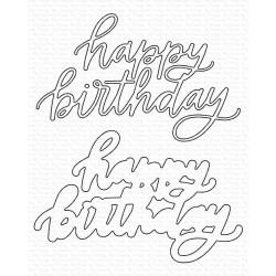 Happy Birthday, My Favorite Things Die-Namics -