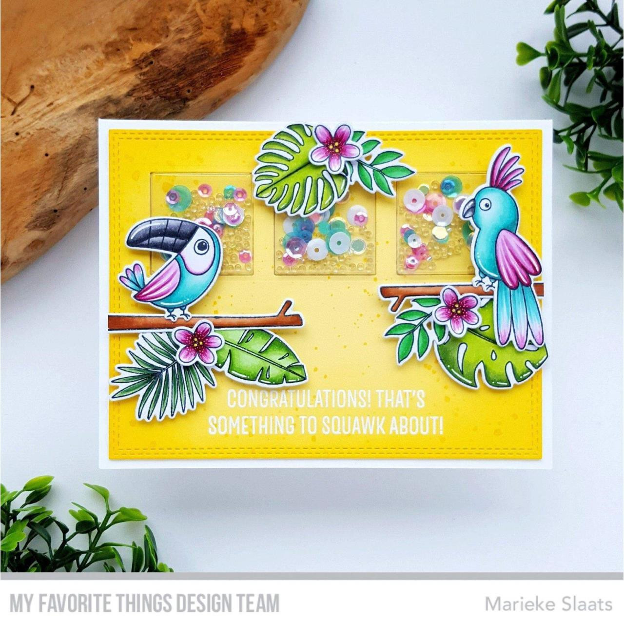 Something to Squawk About, My Favorite Things Clear Stamps -