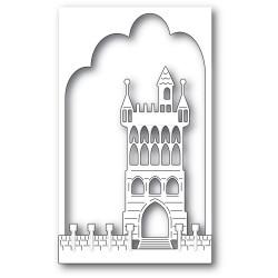 Fantasy Castle Collage, Memory Box Dies -