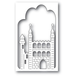 Stone Keep Castle Collage, Memory Box Dies -