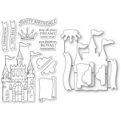 Majestic Achievements, Memory Box Stamp & Die Set -