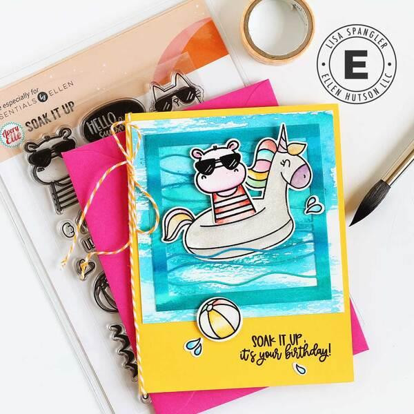 Summer of Stamping Soak It Up Combo by Avery Elle -