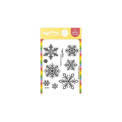Galina's Snowflakes, Waffle Flower Clear Stamps -
