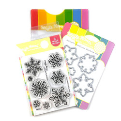 Galina's Snowflakes, Waffle Flower Stamp & Die Combo -