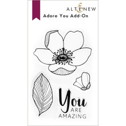 Adore You Add-On, Altenew Clear Stamps -