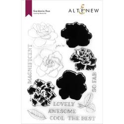 Gardenia Duo, Altenew Clear Stamps -