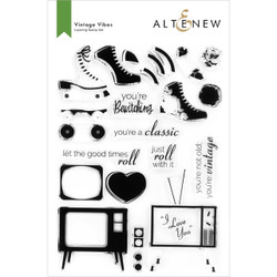 Vintage Vibes, Altenew Clear Stamps -