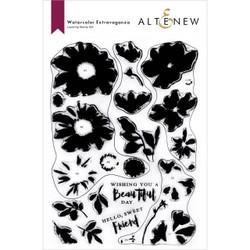 Watercolor Extravaganza, Altenew Clear Stamps -