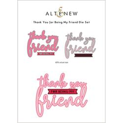 Thank You for Being My Friend, Altenew Dies -