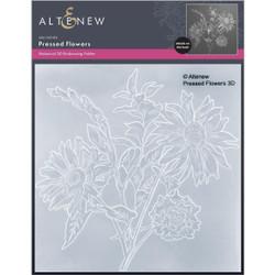 Pressed Flowers 3D, Altenew Embossing Folders -