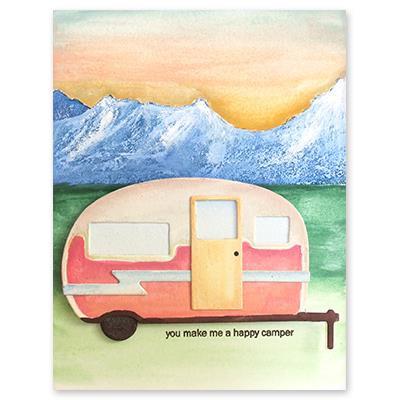 Campers, Penny Black Dies -