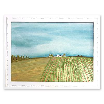 Farmland, Penny Black Cling Stamps -