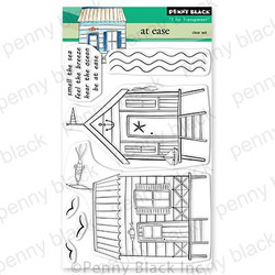 At Ease, Penny Black Clear Stamps -