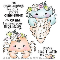 Crab-tivated, Darcie's Clear Stamps -