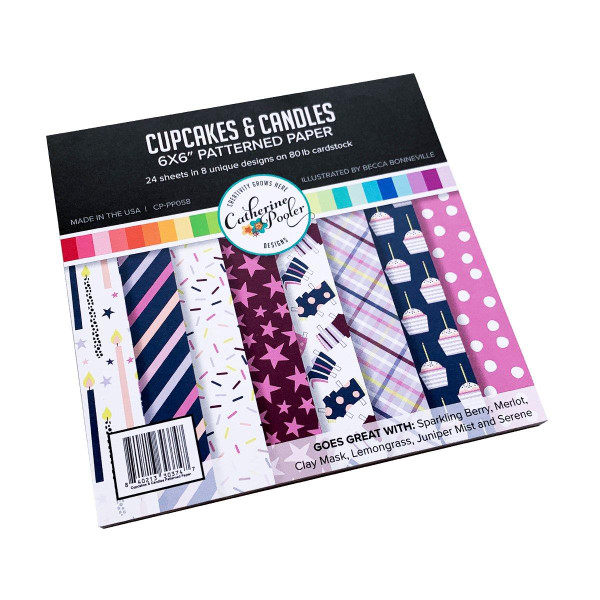 Cupcakes & Candles, Catherine Pooler Patterned Paper -